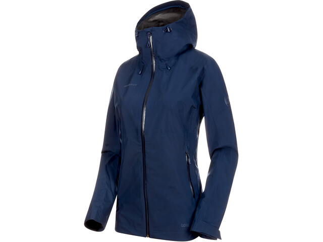 Mammut Convey Tour HS Hooded Jacket Dame peacoat